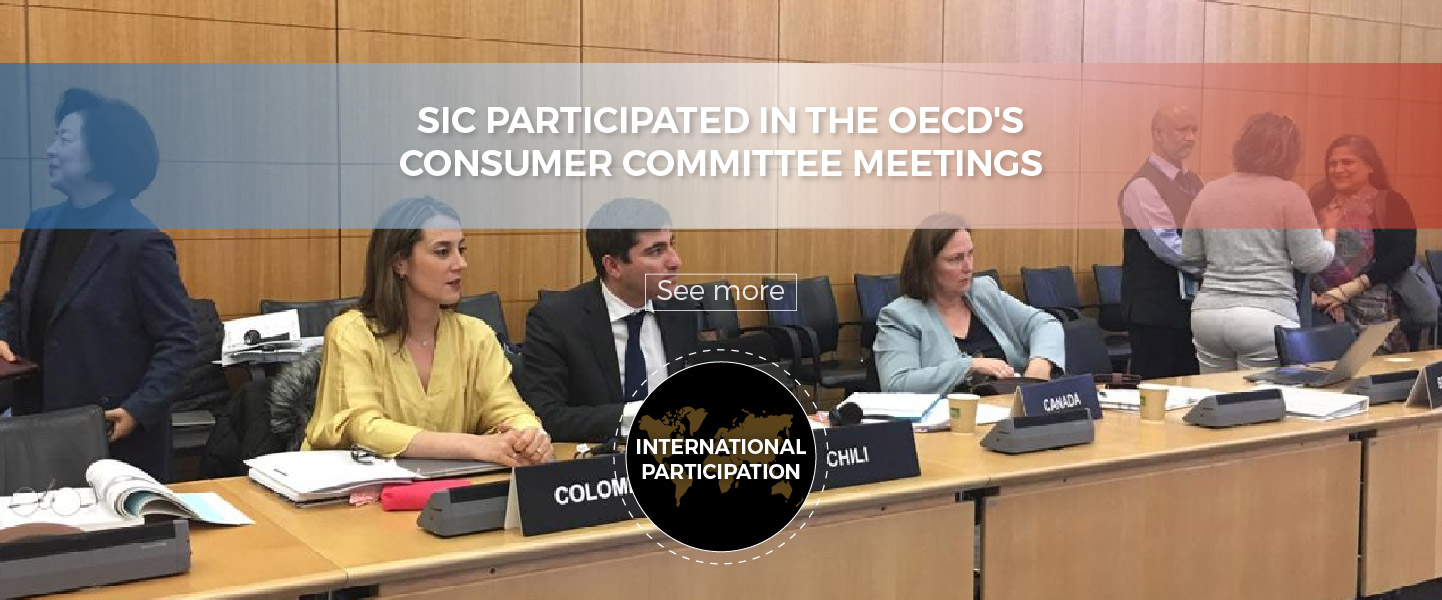 SIC participated in the OECD's Consumer Committee Meetings