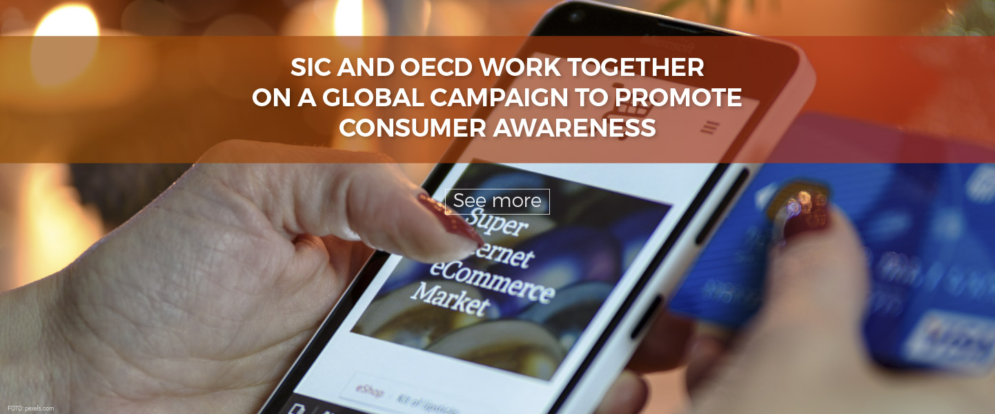 SIC and OECD work together on a global Campaign to promote Consumer Awareness