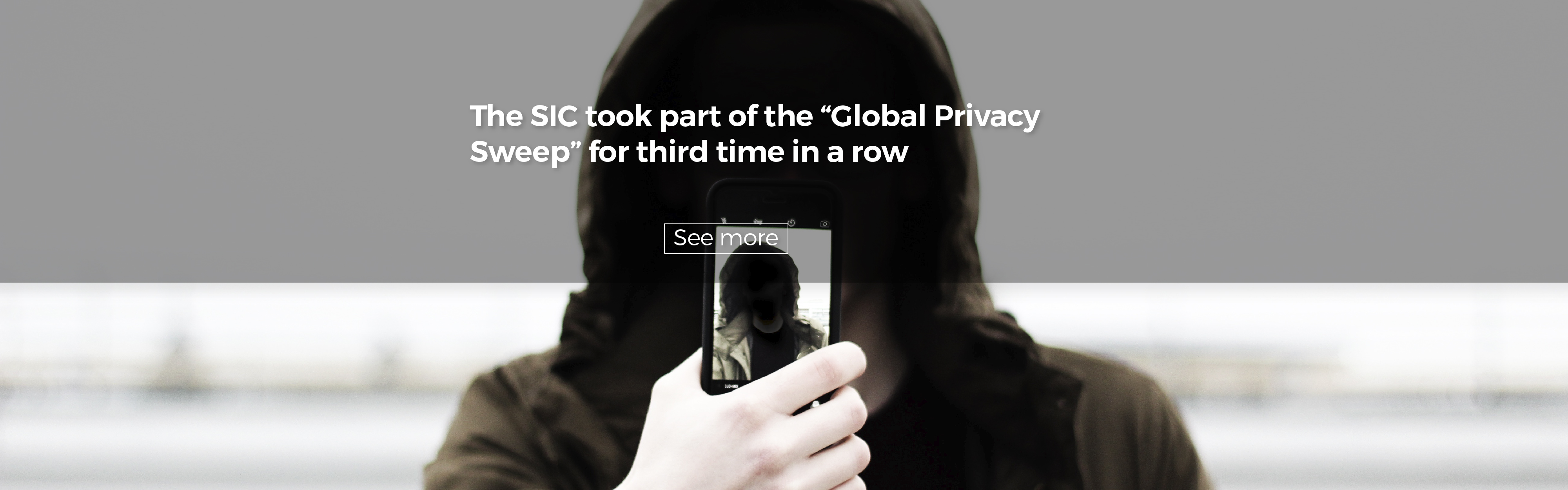 """The SIC took part of the """"Global Privacy Sweep"""" for third time in a row"""
