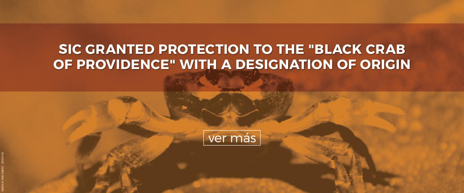 """SIC Granted Protection To The """"Black Crab Of Providence"""" With A Designation Of Origin"""