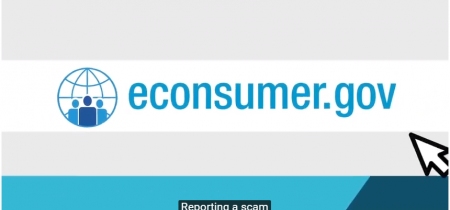 Report international scams in econsumer